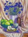 """Cornflowers and Apples"""